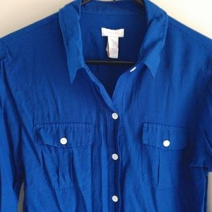 Chico's button down shirt - small
